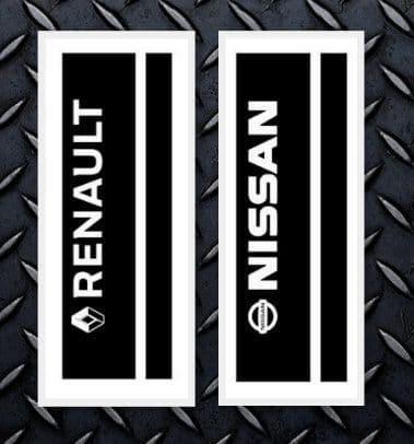 Double Stripe  Bonnet Set - Vauxhall - Nissan Or Renault
